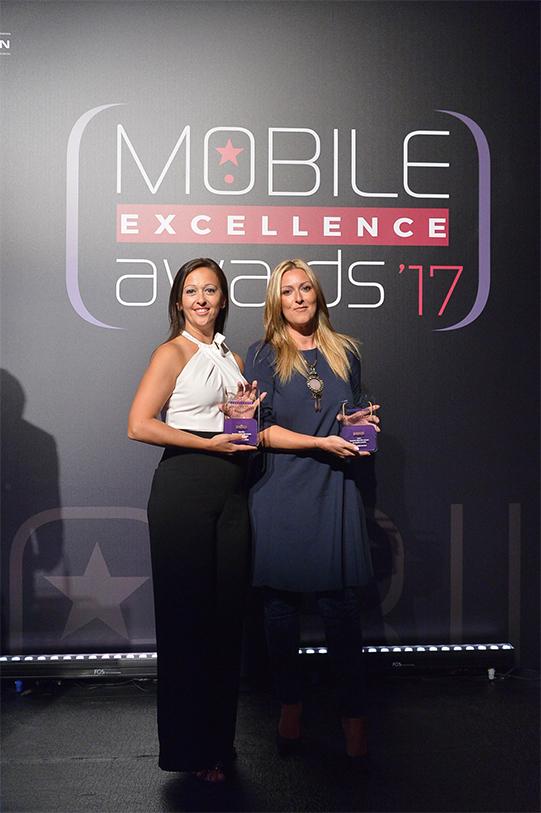 Ρούλα Μοσχογιάννη mobile awards excellence