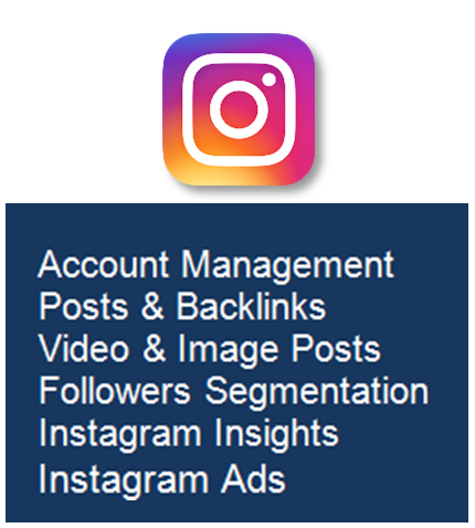 DIGITAL MARKETING SERVICES Instagram